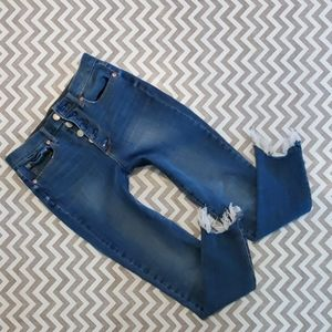 GAP High Rise True Skinny ankle jeans!